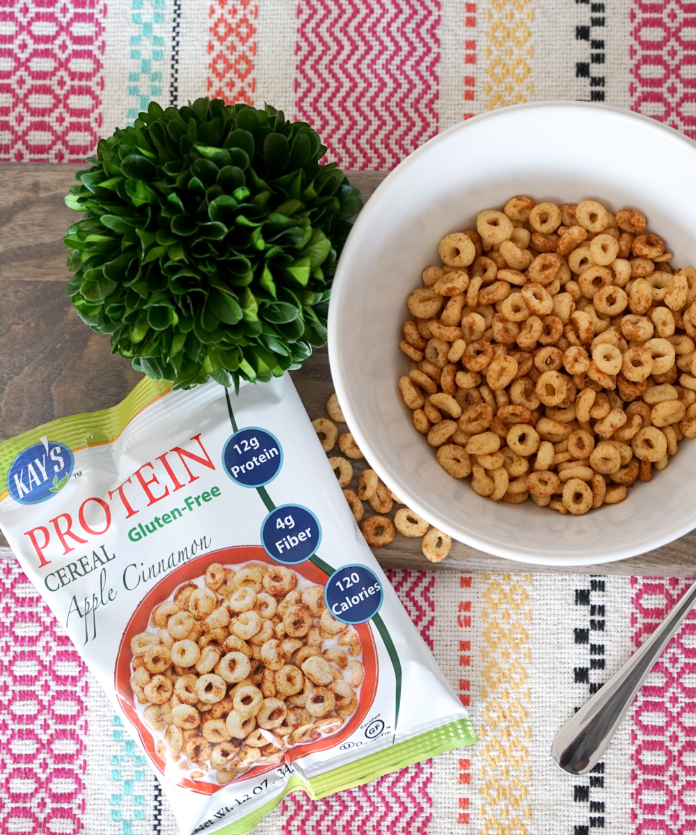 Kay's Naturals Protein Cereal, Apple Cinnamon