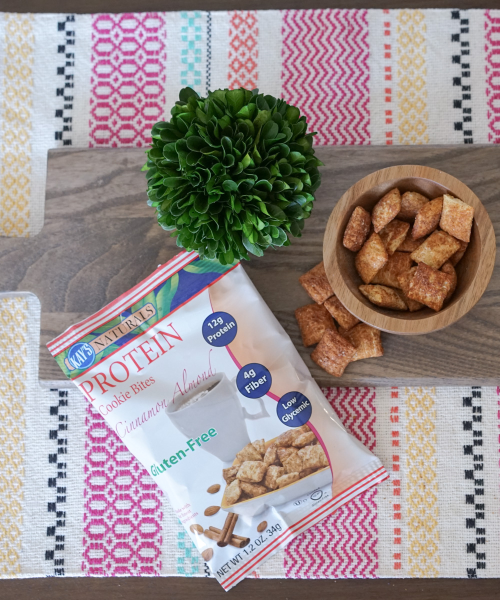 Kay's Naturals Protein Cookie Bites, Cinnamon Almond
