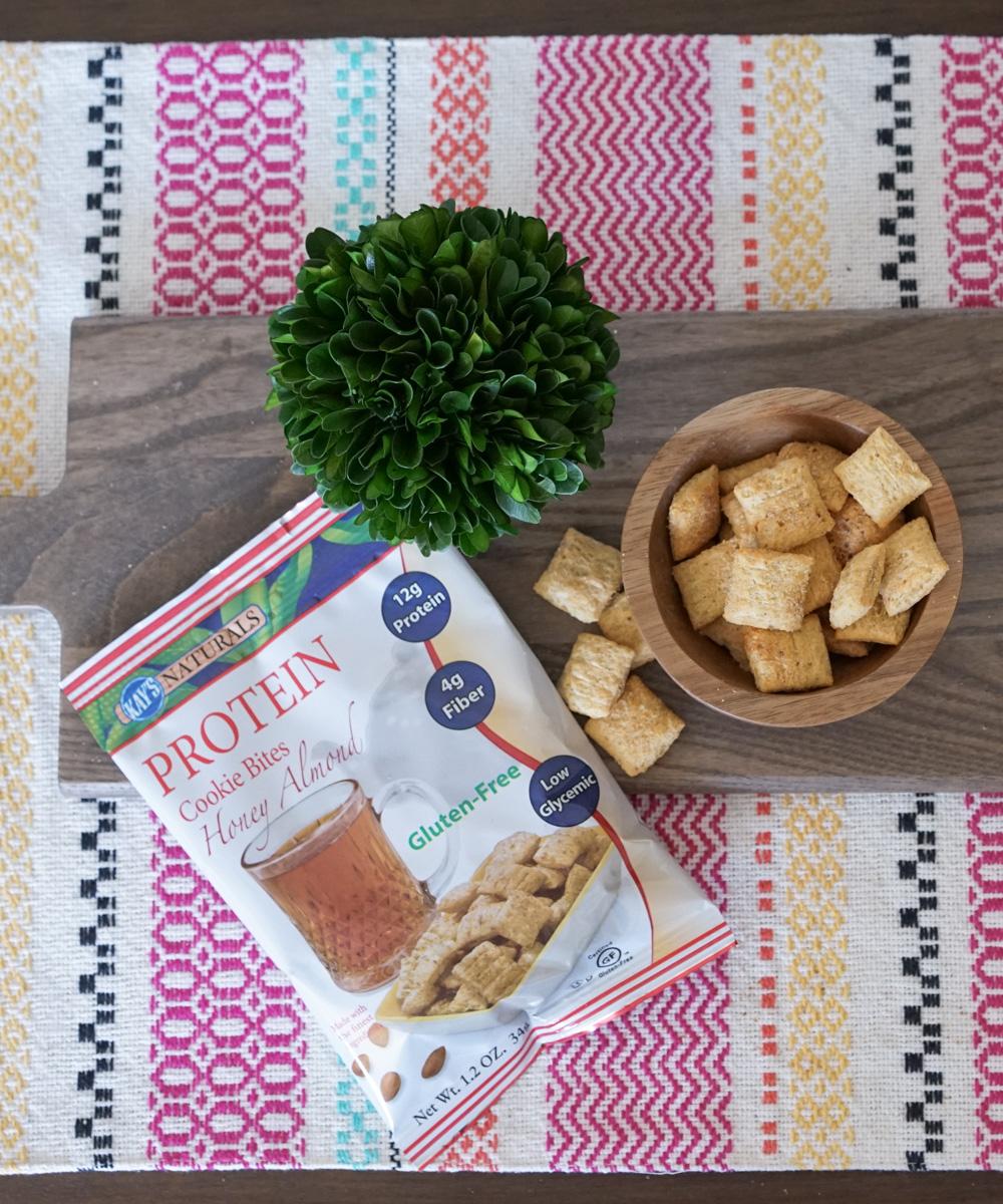 Kay's Naturals Protein Cookie Bites, Honey Almond