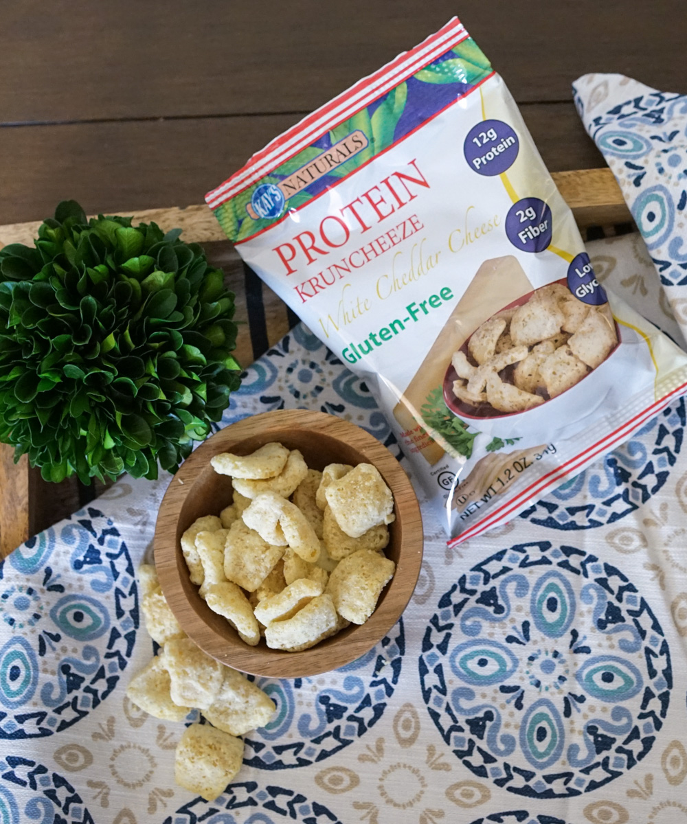 Kay's Naturals Protein Kruncheeze White Cheddar Cheese