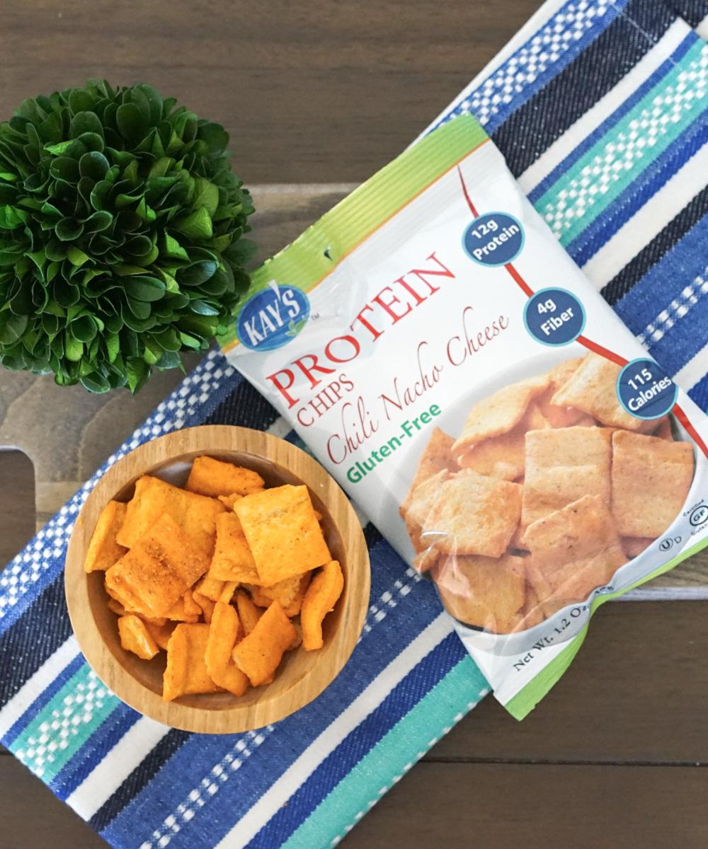 Kay's Naturals Protein Chips, Chili Nacho Cheese