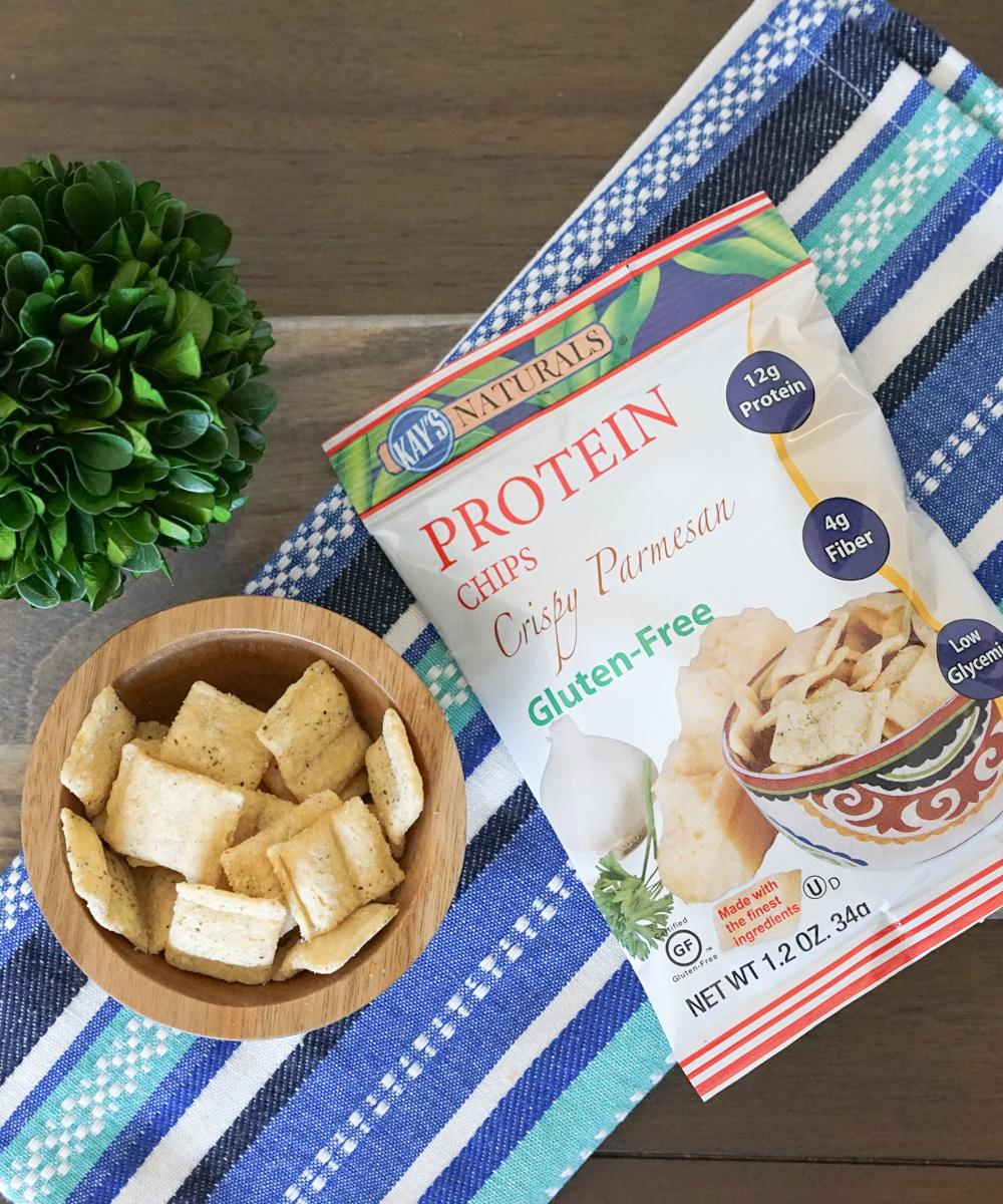 Kay's Naturals Protein Chips, Crispy Parmesan