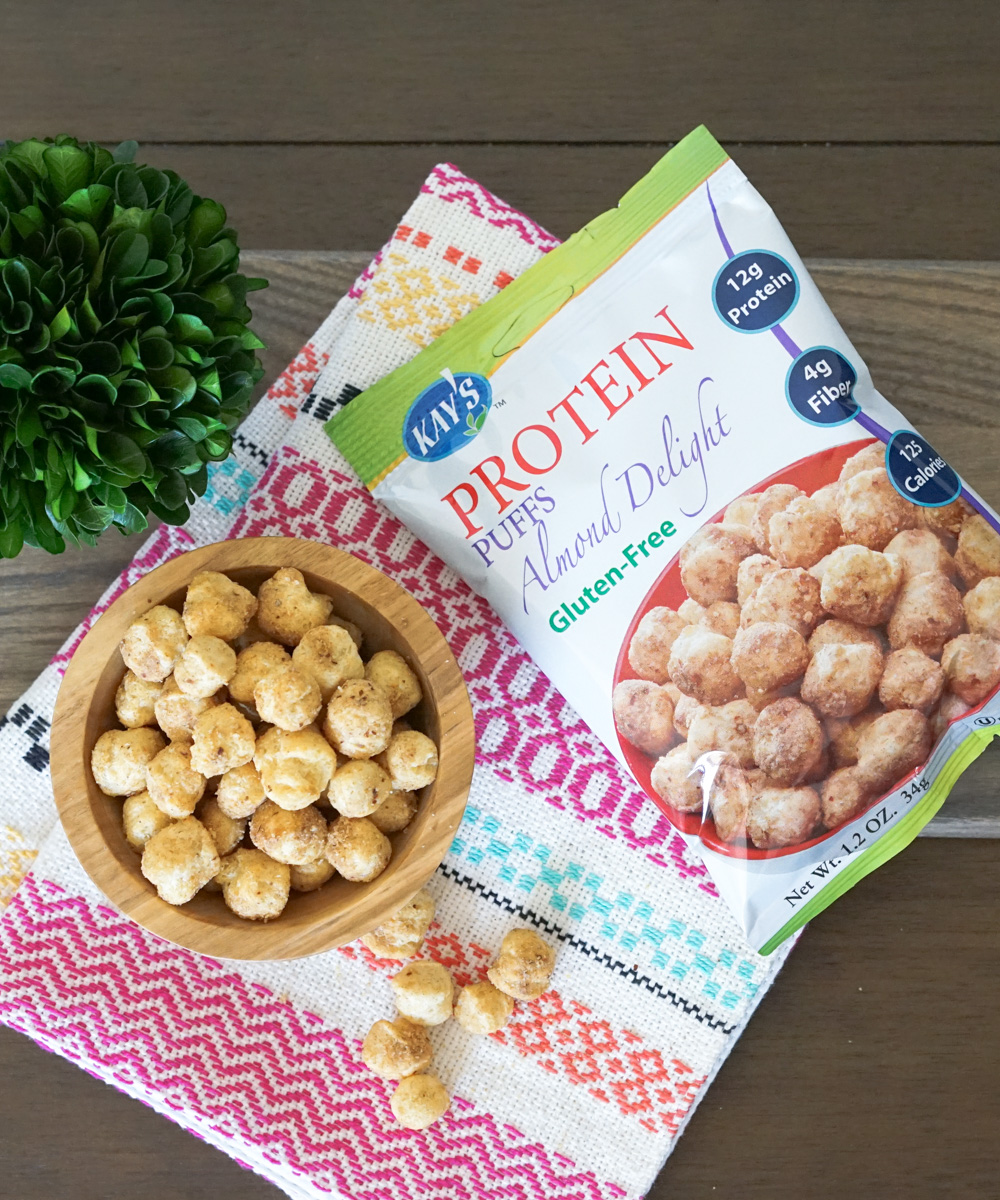 Kay's Naturals Protein Puffs - Almond Delight