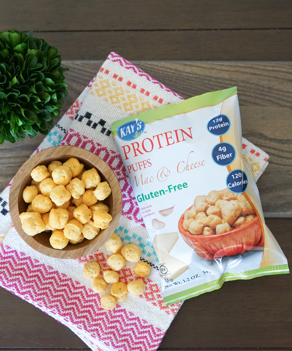 Kay's Naturals Protein Puffs, Mac & Cheese