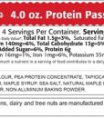 Kay's Pass the Peas, Maple Bacon Nutrition Facts
