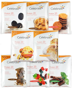 Celebrate Protein Samples, All 8 Flavors