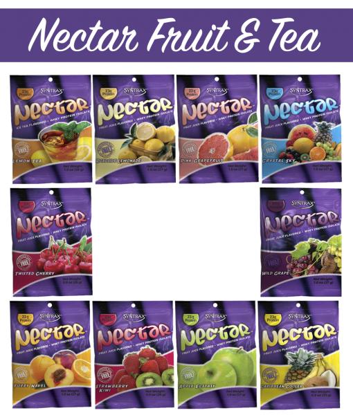 Syntrax Nectar Samples Fruit & Tea - 10 Flavors