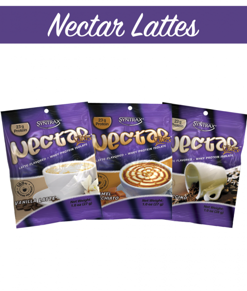 Syntrax Nectar Samples Lattes - 3 Flavors