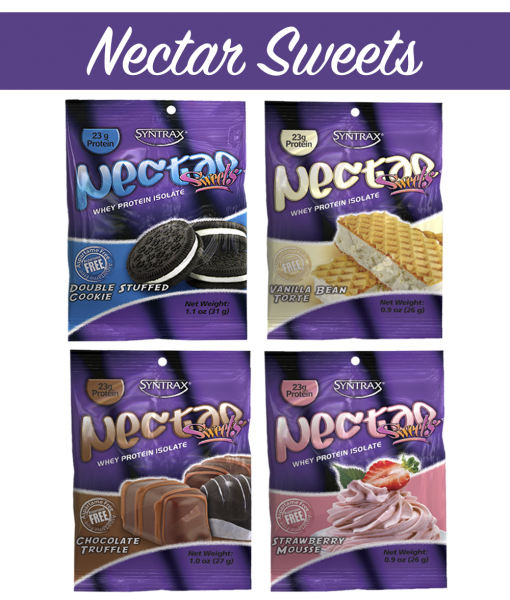 Syntrax Nectar Samples Sweets - 4 Flavors