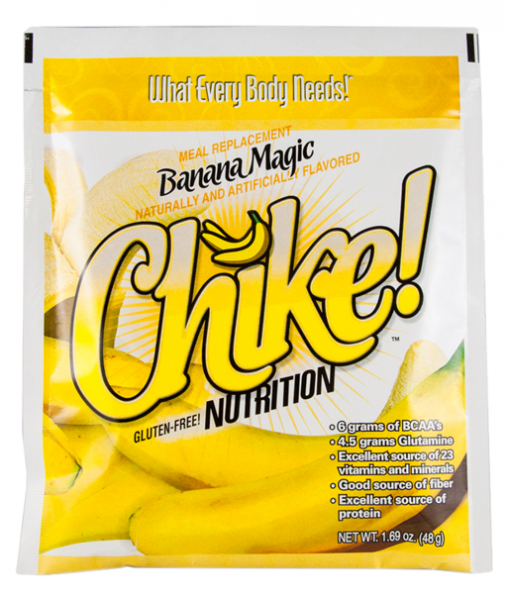Single Serving Packet of Chike Meal Replacement Banana Magic