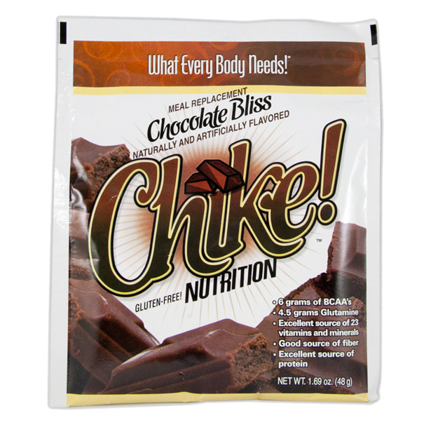 Single Serving Packet of Chike Meal Replacement Chocolate Bliss