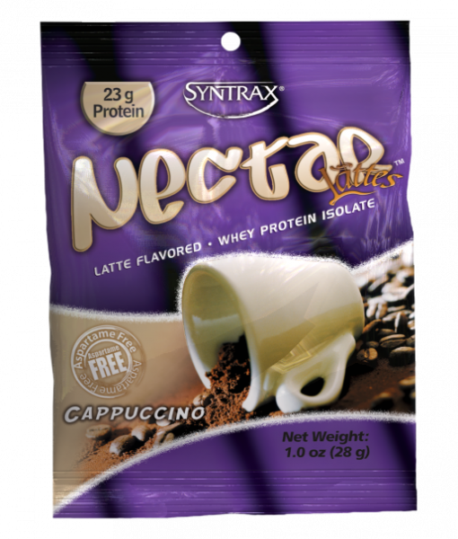 Sample Size of Syntrax Nectar Protein in Cappuccino