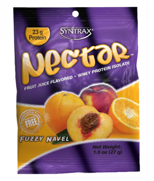 Sample Size of Syntrax Nectar Protein in Fuzzy Navel