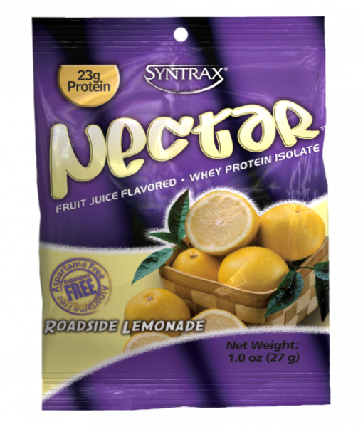 Sample Size of Syntrax Nectar Protein in Roadside Lemonade