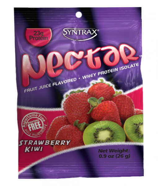 Sample Size of Syntrax Nectar Protein in Strawberry Kiwi